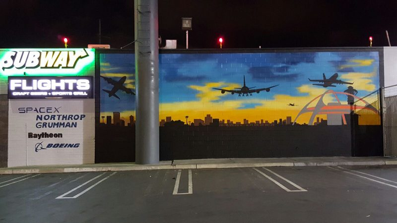 Outdoor Billboard - Flights Craft Beers + Sports + Grill (Hawthorne)