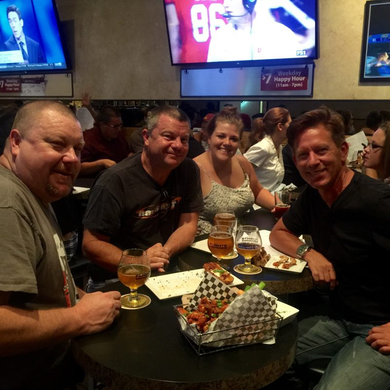 Having fun at Flights Beer Bar - South Bay