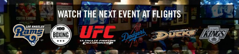 Watch The Next Sporting Event at Flights - Flights Craft Beers + Sports + Grill (Hawthorne)