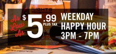 Flights Beer Bar - Weekday Happy Hour